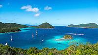 Leinster Bay, St. John<br /> Virgin Islands National Park<br /> US Virgin Islands