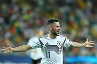Marco Richter of Germany celebrates after scoring a goal<br /> Udine 17-06-2019 Stadio Friuli <br /> Football UEFA Under 21 Championship Italy 2019<br /> Group Stage - Final Tournament Group B<br /> Germany - Denmark<br /> Photo Cesare Purini / Insidefoto