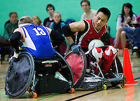 Great Britain v Canada Wheelchair Rugby 2011
