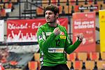 Essens Bliss, Sebastian jubelt beim Spiel in der Handball Bundesliga, Die Eulen Ludwigshafen - Tusem Essen.<br /> <br /> Foto © PIX-Sportfotos *** Foto ist honorarpflichtig! *** Auf Anfrage in hoeherer Qualitaet/Aufloesung. Belegexemplar erbeten. Veroeffentlichung ausschliesslich fuer journalistisch-publizistische Zwecke. For editorial use only.