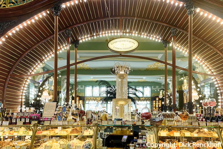 Lelissejew-Feinkostladen, Nweski Prospekt 56, St. Petersburg, Russland, UNESCO-Weltkulturerbe