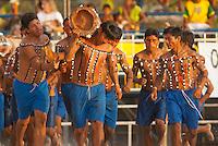 X JOGOS DOS POVOS INDÍGENAS <br /> Xerentes na corrida de tora<br /> Os Jogos dos Povos Indígenas (JPI) chegam a sua décima edição. Neste ano 2009, que acontecem entre os dias 31 de outubro e 07 de novembro. A data escolhida obedece ao calendário lunar indígena. com participação  cerca de 1300 indígenas, de aproximadamente 35 etnias, vindas de todas as regiões brasileiras. <br /> Paragominas , Pará, Brasil.<br /> Foto Paulo Santos<br /> 04/11/2009