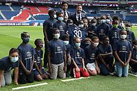 Conference de presse de Lionel Messi au Parc des Princes - Nasser Al Khelaifi ( president PSG ) - <br /> 11/08/2021<br /> Lionel Messi al Paris Saint Germain PSG <br /> Calcio Ligue 1 2021/2022<br /> Photo Federico Pestellini/Panoramic/insidefoto <br /> ITALY ONLY