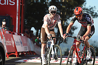 4th September 2021; Sanxenxo to Castro De Herville De Mos, Pontevedra, Spain; stage 20 of Vuelta a Espanya cycling tour; Lotto - Soudal 2021, Ag2r - Citroen Moniquet, Sylvain Dewulf, Stan Castro De Herville De Mos