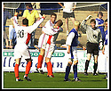 14/9/02       Copyright Pic : James Stewart                     .File Name : stewart-qots v inverness 12.DENNIS WYNESS IS HELD ALOFT BY BARRY ROSON AFTER HE SCORED CALEY'S THIRD GOAL....James Stewart Photo Agency, 19 Carronlea Drive, Falkirk. FK2 8DN      Vat Reg No. 607 6932 25.Office : +44 (0)1324 570906     .Mobile : + 44 (0)7721 416997.Fax     :  +44 (0)1324 570906.E-mail : jim@jspa.co.uk.If you require further information then contact Jim Stewart on any of the numbers above.........