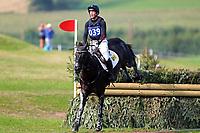 4th September 2021; Bicton Park, East Budleigh Salterton, Budleigh Salterton, United Kingdom: Bicton CCI 5* Equestrian Event; Oliver Townend riding Tregilder