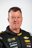 Feb 6, 2020; Pomona, CA, USA; NHRA pro stock driver Jeg Coughlin Jr poses for a portrait during NHRA Media Day at the Pomona Fairplex. Mandatory Credit: Mark J. Rebilas-USA TODAY Sports