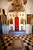 12th Century Greek Orthodox Byzantine Church of the Ayioi Apstoloi (Holy Apostles)  Katomeria, Kea, Greek Cyclades Islands
