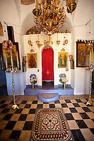 12th Century Greek Orthodox Byzantine Church of the Ayioi Apstoloi (Holy Apostles)  Katomeria, Kea, Greek Cyclades Islands