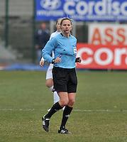 France U19 - Belgium U19 : referee Rhona Daly (IRL) .foto DAVID CATRY / Nikonpro.be