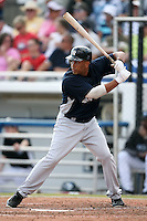 February 25, 2009:  Left Fielder John Rodriguez (47) of the New York Yankees during a Spring Training game at Dunedin Stadium in Dunedin, FL.  The New York Yankees defeated the Toronto Blue Jays 6-1.   Photo by:  Mike Janes/Four Seam Images