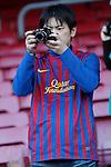 Barcelona's fans during la liga match on april 21st 2012...Photo: Cesar Cebolla / ALFAQUI