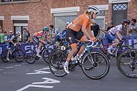 Ellen Van Dijk (NED/Trek Segafredo) up the Wijnpers<br /> <br /> Women Elite – Road Race (WC)<br /> Race from Antwerp to Leuven (157.7km)<br /> <br /> ©kramon