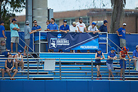 Fans watch from the left field bleachers during Game One of the Gainesville Super Regional of the 2017 College World Series between the Wake Forest Demon Deacons and the Florida Gators at Alfred McKethan Stadium at Perry Field on June 10, 2017 in Gainesville, Florida. The Gators defeated the Demon Deacons 2-1 in 11 innings. (Brian Westerholt/Four Seam Images)