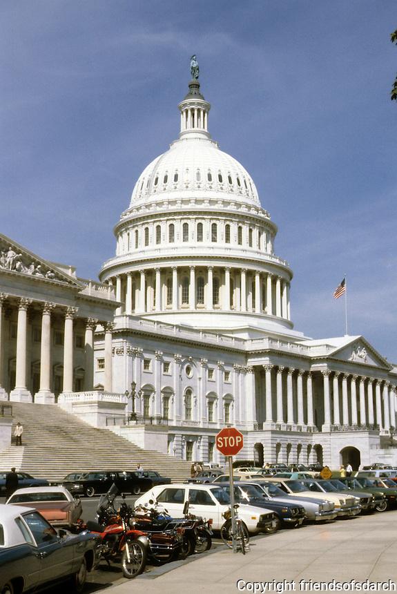 Washington D.C. : Capitol Building, Rear.