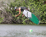 September 13, 2014:  Scenes from the WWA Wakeboard World Championships at Mills Pond Park in Fort Lauderdale, FL.  Men's  Professional Wakeboarder Luciano Rondi Neto BRA. Liz Lamont/ESW/CSM