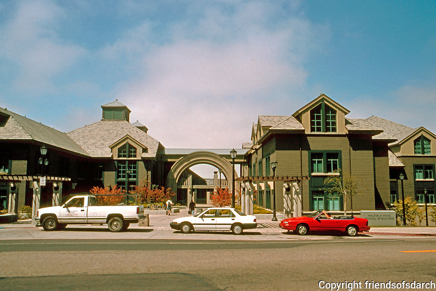 Charles Moore: School of Business, U.C. Berkeley 1996.  Photo '98.