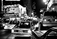 - New York, traffic in Times Square<br />