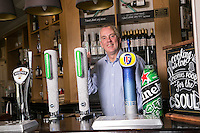 Michael Thomas, Licencee of The Dovecote Pub, Leicester