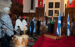 Deputy First Minister Nicola Sturgeon hosted a reception at Edinburgh Castle's Great Hall to mark the contribution to Scotland by the people of African descent..Those in attendance were entertained by music, dance and storytelling..Pic Kenny Smith, Kenny Smith Photography.6 Bluebell Grove, Kelty, Fife, KY4 0GX .Tel 07809 450119,