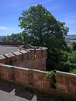 Terrasse vor Rittersaal, Welfen  - Schloss Marienburg bei Pattensen, Niedersachsen, Deutschland, Europa<br /> knight's hall terrace, Castle oft he Welfs near Pattensen , Lower Saxony, Germany, Europe