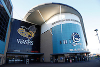Photo: Richard Lane/Richard Lane Photography. Wasps Open Training Session at the Ricoh Arena ahead of their first game at the stadium. 16/12/2014. Wasps Ricoh Arena.