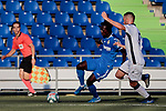 Getafe CF's Merveil Ndockyt during Preseason match between Getafe CF and Crotone FC at Colisseum Alfonso Perez in Getafe, Spain. August 02, 2019. (ALTERPHOTOS/A. Perez Meca)