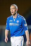 St Johnstone v Motherwell....25.02.14    SPFL<br /> Steven Anderson<br /> Picture by Graeme Hart.<br /> Copyright Perthshire Picture Agency<br /> Tel: 01738 623350  Mobile: 07990 594431