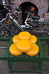 Cheese and bicycles, Amsterdam, Netherlands, .  John offers private photo tours in Denver, Boulder and throughout Colorado, USA.  Year-round. .  John offers private photo tours in Denver, Boulder and throughout Colorado. Year-round.