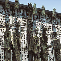 SUBIRACHS, Josep Maria (1927). Sanctuary of the Virgin del Camino. SPAIN. León. Sanctuary of the Virgin del Camino. Representa