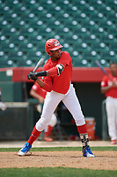 Estanli Castillo (17) during the Dominican Prospect League Elite Underclass International Series, powered by Baseball Factory, on August 2, 2017 at Silver Cross Field in Joliet, Illinois.  (Mike Janes/Four Seam Images)