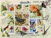 ,LANDSCAPES, LANDSCHAFTEN, PAISAJES, LornaFinchley, paintings+++++,USHCFIN0120AZ,#L#, EVERYDAY ,vintage,stamps,puzzle,puzzles