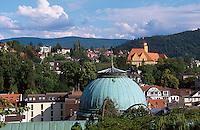 Deutschland, Baden-Wuerrttemberg, Blick vom Neuen Schloss in Baden-Baden
