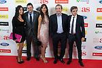 El Chiringuito TV presenters pose during AS Sport Female Awards ceremony in Madrid, Spain. December 15, 2014. (ALTERPHOTOS/Victor Blanco)