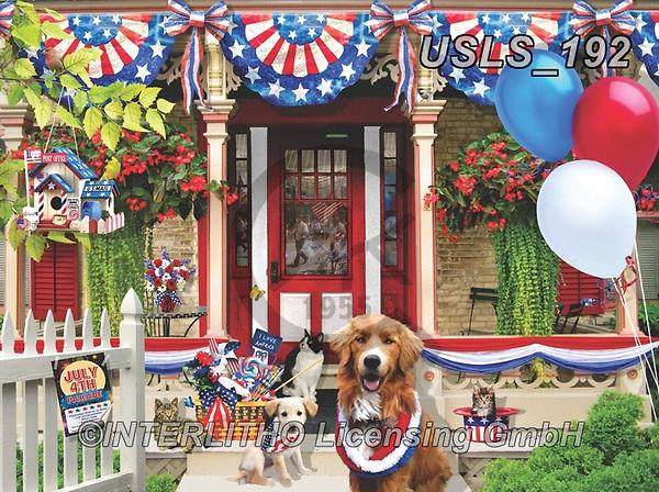 Lori, LANDSCAPES, LANDSCHAFTEN, PAISAJES, paintings+++++Fourth Of July Parade Puzzle_8_72,USLS192,#l#, EVERYDAY ,puzzle,puzzles