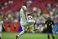 Glendale, AZ - Saturday June 25, 2016: Frank Fabra during a Copa America Centenario third place match match between United States (USA) and Colombia (COL) at University of Phoenix Stadium.