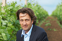 Christophe Dussutour, manager, winemaker chateau trottevieille saint emilion bordeaux france