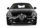 Car photography straight front view of a 2015 Alfa Romeo Giulietta Distictive 5 Door SUV