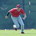 Los Angeles Angels spring training baseball camp