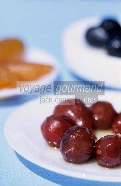 Europe/Chypre/Petra Tou Romiou : Fruits confits
