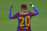 Liga IBERDROLA 2020-2021. Jornada: 18.<br /> FC Barcelona vs R. Madrid: 4-1.<br /> Asisat Oshoala.