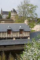 Europe/France/Bretagne/56/Morbihan/Vannes: Les Lavoirs et la Tour du Connétable