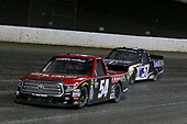 #54: Chris Windom, DGR-Crosley, Toyota Tundra Baldwin Brothers / CROSLEY BRANDS and #51: Logan Seavey, Kyle Busch Motorsports, Toyota Tundra Mobil 1