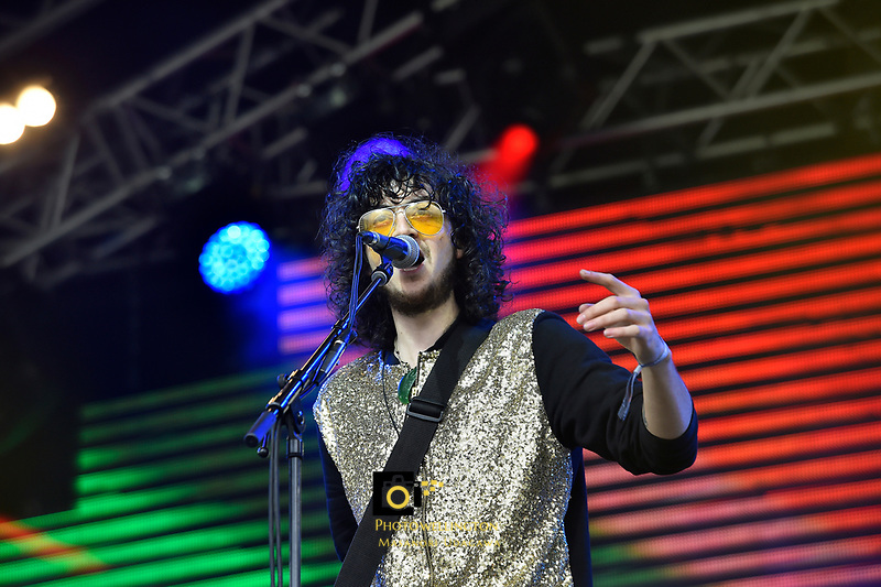 Tunes Of I performing at Jim Beam Homegrown, Wellington Waterfront, New Zealand on Saturday 7 April 2018.<br /> Photo by Jo Hawes. <br /> www.photowellington.photoshelter.com