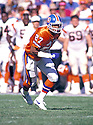 Denver Broncos Steve Atwater (77) during a game from his career with the Broncos. Steve Atwater played for 11 years with 2 different teams, was a 8-time Pro Bowler.