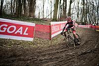 Michael Vanthourenhout (BEL/Pauwels Sauzen-Bingoal)<br /> <br /> 2021 UCI CX World Cup Overijse (BEL)<br /> Vlaamse Druivencross<br /> <br /> Men's Race<br /> <br /> ©kramon