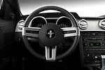 Steering wheel of a 2007 Ford Mustang GT Coupe