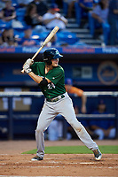 Daytona Tortugas third baseman Brantley Bell (24) at bat during a game against the St. Lucie Mets on August 3, 2018 at First Data Field in Port St. Lucie, Florida.  Daytona defeated St. Lucie 3-2.  (Mike Janes/Four Seam Images)