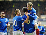 David Templeton and Lee Wallace celebrate
