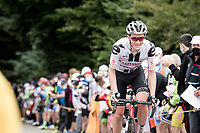 Nikias Arndt (DEU/Sunweb) smiling up the Col de Marie Blanque (1st Cat)<br /> <br /> Stage 9 from Pau to Laruns (153km)<br /> <br /> 107th Tour de France 2020 (2.UWT)<br /> (the 'postponed edition' held in september)<br /> <br /> ©kramon